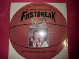 LP33 N°9004 - BILL PRESTON & SYREETA - FASTBREAK - M7 915R1 - B.O.F. - MOTOWN MADE USA - Disco, Pop
