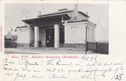 Wien  XIII. , 1898   ---   Bahnhof  BREITENSEE - Stadtbahn - Otros