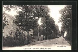 CPA Sainte-Geneviéve-des-Bois, Route De Corbeil - Unclassified