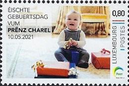 Luxembourg - Luxemburg - Timbres 2021   Éischte Gebuertsdag Vum PRËNZ CHAREL  10.05.2021 - Ungebraucht