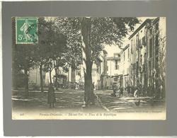 66 Ille Sur Tet Place De La Républque édit. Brun N°403 Animée - Altri Comuni