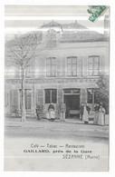 Sézanne Café Tabac Restaurant Gaillard, Près De La Gare - Sezanne