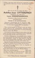 Denderbelle, Mechelen, 1937, Achilles Uyttersprot, Winnepenninckx - Santini