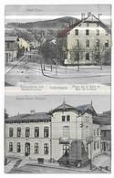 Schirmeck Hotel Vogt Bahnhofplatz Und Bahnhofstrasse Place De La Gare Et Rue De La Gare Hauptzollamt, Douane - Schirmeck