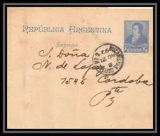 4194/ Argentine (Argentina) Entier Stationery Bande Pour Journal Newspapers Wrapper N°15 1892 - Ganzsachen