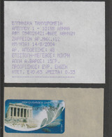 Greece 2004 ATM Olympic Games In Athens - Val. 0,65 Euro MNH/** + Receipt (G121-59) - Estate 2004: Atene