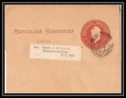 4149/ Argentine (Argentina) Entier Stationery Bande Pour Journal Newspapers Wrapper N°20 - Ganzsachen