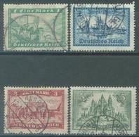 REICH - USED/OBLIT. - 1924 -  Mi 364-367 Yv 355-358 - Lot 23570 - Gebruikt