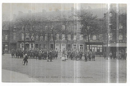 Denain Les Grèves Du Nord Place Gambetta - Denain