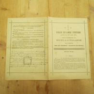 Oost Vlaamse Studentenbond  Gilde 1895 Sinte Luitgaarde Gent Leuven - Non Classés