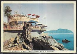 GENOVA NERVI - RISTORANTE LA MARINELLA - VIAGGIATA 1963 - Genova