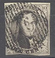 D - [45670]TB//O/Used-N° 6 Belle Obl Centrale 'D46' Gedinne Nipa +15? - 1851-1857 Medallones (6/8)