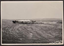 Photo Honfleur - Travaux - Empierrement Matelas Fascines Digue Est - 8 Juillet 1948 - Luoghi