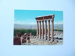 BAALBECK  -  Les Six Colonnes Du Temple De Jupiter  -  LEBANON  -  LIBAN - Líbano