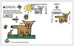 Spain Spanien MNH ** 2021 Europa 2021 - Endangered National Wildlife FDC M - 2020