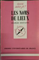 Les Noms De Lieux Charles Rostaing +++TBE+++ LIVRAISON GRATUITE+++ - Unclassified