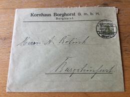 K20 Deutsches Reich 1921 Brief Von Borghorst/Steinfurt Nach Burgsteinfurt - Covers & Documents