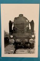Locomotive SNCF Sud Ouest 141 F 612 - Photo Gare Périgueux- 1967 - France Aquitaine Dordogne 24 Train Loc Loco Vapeur - Trains