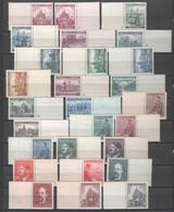 Böhmen Und  Mähren , Postfrische Marken Mit Leerfeldern - Used Stamps