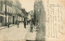 Ruffec * La Rue De Valence * Commerces Magasins - Ruffec