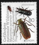 Deutschland Germany MNH ** 2021 Europa 2021 - Endangered National Wildlife  M - 2020