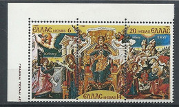 Greece 1980 Complete Series Of 3 Value Christmas MNH** - Unused Stamps