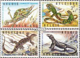 Belgien 1401-1404 (kompl.Ausg.) Postfrisch 1965 Reptilien - Neufs
