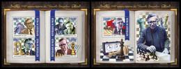 NIGER 2021 - Vasily Smyslov, Chess. M/S + S/S Official Issue [NIG210132] - Chess