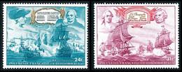 POLYNESIE 1976 - Yv. PA 104 Et 105 **   Cote= 11,70 EUR - Indépendance Des Etats-Unis (2 Val.)  ..Réf.POL25480 - Nuovi