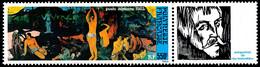 POLYNESIE 1985 - Yv. PA 186 ** Avec Vignette  Faciale= 4,62 EUR - Musée Gauguin  ..Réf.POL25601 - Unused Stamps