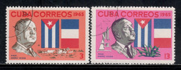 Cuba 1965 Mi# 1110-1111 Used - Andre Voisin, French Naturalist - Used Stamps