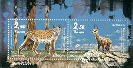 Bosnia Herzegowina MNH ** 2021  Europa 2021 - Endangered National Wildlife Block M - 2020
