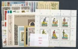 DDR Jahrgang 1982 ** Komplett Mi. 45,- - Unused Stamps