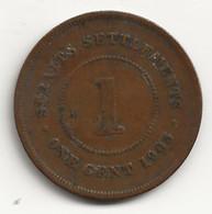 Straits Settelments - 1 Cent - 1903 - TB/TTB - Colonies