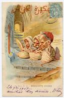 Illustrateur Assus Caricaturiste Algérien D'origine Juive. Mendiants Arabes. - Altre Illustrazioni