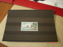 NOUVELLE-CALEDONIE   ANNEE 1962  NEUF   N° YVERT  POSTE AERIENNE N° 72        LA ROCHE PERCEE A BOURAIL - Collezioni (senza Album)