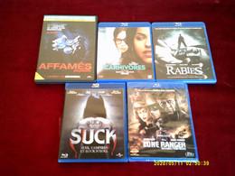 LOT DE 5 DVD BLU RAY   POUR 20 EUROS   °°° REF  242 - Horror