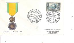 Algérie ( Commémoratif De 1958 à Voir) - Storia Postale