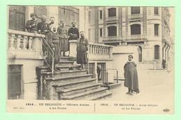 R094 - Militaria - Guerre De 1914 - En BELGIQUE - Officiers Arabes à La Panne - War 1914-18