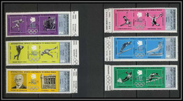 Nord Yemen YAR - 3594/ N°1301/1306 A Silver Argent ** MNH Jeux Olympiques Olympic Games World Peace 1971 - Yemen