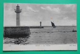 1976- CPA - BREST (29) - Les Phares - Voiliers Dans La Rade - Bateau De Pêche - Trois-mats -2 - Brest