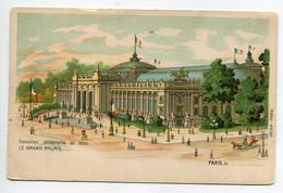 75 PARIS  Exposition Universelle 1900  Le Grand Palais  Edit  Orlow      D15  2021 - Exposiciones