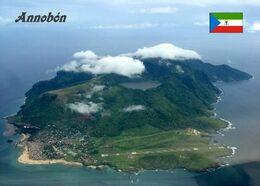 Equatorial Guinea Annobon Island Aerial View New Postcard Äquatorialguinea AK - Guinea Equatoriale
