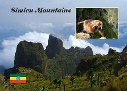 Ethiopia Simien Mountains UNESCO New Postcard Äthiopien AK - Ethiopia