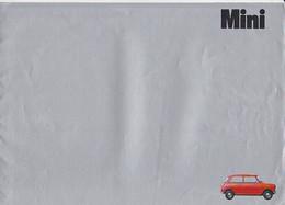Austin Mini Brochure Catalogue Automobile Voiture Car Auto Folder 1971 - Praktisch