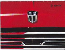 Austin Mini Brochure Catalogue Automobile Voiture Car Auto Folder 1970 - Praktisch