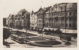 Timisoara - Palatul Loyd , Tram Strassenbahn 1936 - Romania