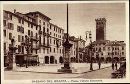 CPA Bassano Del Grappa Veneto, Piazza Vittorio Emanuele - Altri