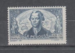 FRANCE / 1942 / Y&T N° 541 ** : La Pérouse X 1 - Unused Stamps
