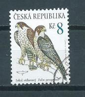 2003 Czech Republic Falcon,birds Of Prey Used/gebruikt/oblitere - Gebruikt